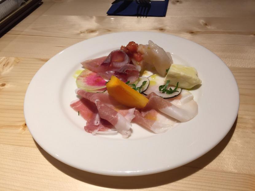 福島市のイタリアン「アクア・ディ・マーレ」の前菜
