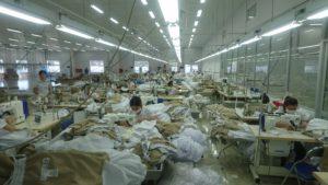 HACCP製品を製造しているベトナム工場